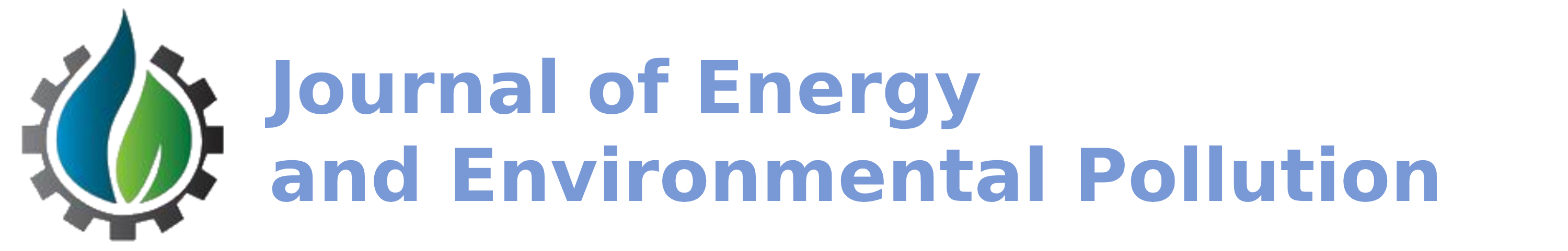 Journal of Energy and Environmental Pollution